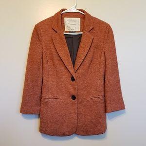 Anthropologie | Cartonnier rust colored blazer